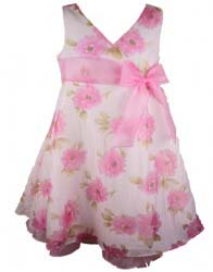 ca0ff824827 Cute Bonnie Jean Pink Gingham Birthday Dress Review - Bonnie Jean ...